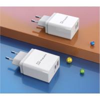 Сетевое зарядное устройство Konfulon C59 PD+QC 3.0 (White)
