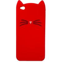 Чехол игрушка Kitty Xiaomi Redmi Go (красный)