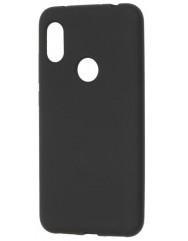 Чехол Soft Touch Xiaomi Redmi Note 6 pro (черный)