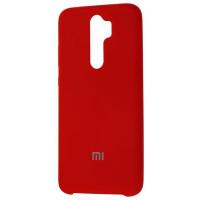 Чехол Silky Xiaomi Redmi Note 8 Pro (темно-красный)
