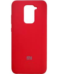 Чехол Silky Xiaomi Redmi Note 9 (красный)
