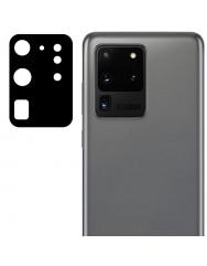 Захисне скло на камеру Samsung Galaxy S20 Ultra  (Black) 0.18mm