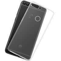 Чехол Soft Touch Huawei P Smart + (прозрачный)