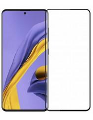 Скло Samsung Galaxy A51 (5D Black) 0.33mm