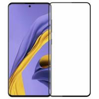 Стекло Samsung Galaxy A51 (5D Black) 0.33mm