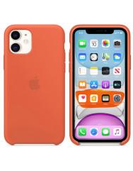 Чохол Silicone Case Iphone 11 (оранжевий)