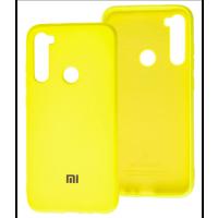 Чехол Silicone Case Xiaomi Redmi Note 8T (желтый)