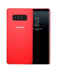 Чехол Silicone Case Samsung Galaxy Note 8 (красный)