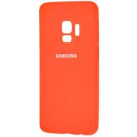Чехол Silky Samsung Galaxy S9 (оранжевый)