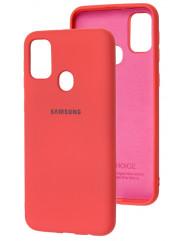Чехол Silicone Case Samsung M21/M30s (коралловый)