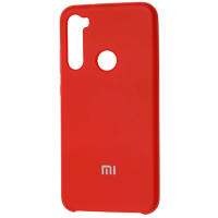 Чехол Silky Xiaomi Redmi Note 8 (красный)