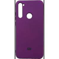 Чехол Silicone Case Xiaomi Redmi Note 8 (сиреневый)
