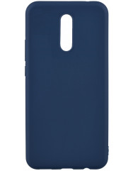 Чехол Silicone Case Lite Xiaomi Redmi 8 (синий)