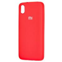 Чехол Silicone Case Xiaomi Redmi 7a (красный)