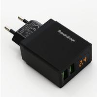 Сетевое зарядное устройство Reddax RDX-030 2.4A (черный)