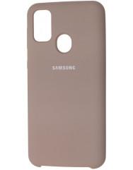 Чохол Silicone Case Samsung M21/M30s (бежевий)