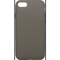 Чехол силиконовый Latex матовый iPhone 7/8 (черный)
