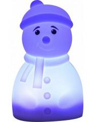 Силиконовая светодиодная лампа Colorful Silicone Snowman