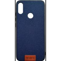 Чехол Remax Tissue Xiaomi Redmi Note 7 (темно-синий)