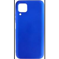 Чехол Silicone Case Lite для Huawei P40 Lite (синий)