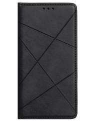 Книга Business Leather Xiaomi Redmi Note 9 (чорний)
