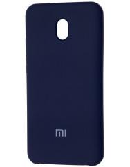 Чохол Silky Xiaomi Redmi 8a (темно-синій)