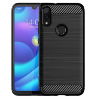 Чехол Carbon Xiaomi Redmi Note 7 (черный)