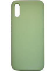Чехол Silky Xiaomi Redmi 9a (салатовый)