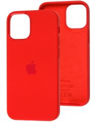 Чехол Silicone Case Iphone 12 Mini (красный)