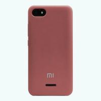 Чехол Silky Xiaomi Redmi 6a (багряный)