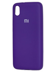Чохол Silicone Case Xiaomi Redmi 7a (фіолетовий)