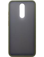 Чехол LikGus Maxshield матовый Xiaomi Redmi 8 (хаки)