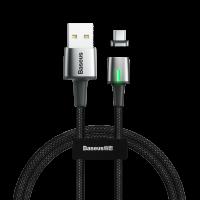 Магнитный кабель Baseus Zinc Magnetic Type-C (черный) CALXC-A01