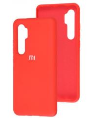 Чохол Silicone Case Xiaomi Mi Note 10 Lite (червоний)