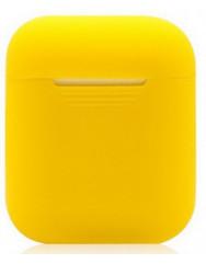 Чохол для Airpods силіконовий (жовтий)