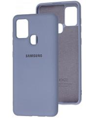 Чохол Silicone Case Samsung Galaxy A21s (сірий)