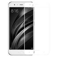 Защитное стекло для Xiaomi Mi6 (3D white) 0.33mm
