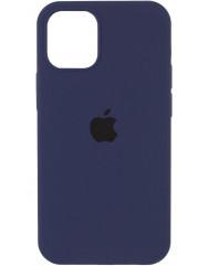 Чохол Silicone Case Iphone 12 Pro Max (темно-синій)
