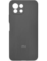 Чохол Silicone Case Xiaomi Mi 11 Lite (чорний)