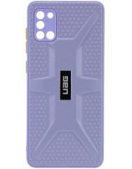 Чохол TPU+PC UAG Samsung Galaxy A31 (лавандовий)