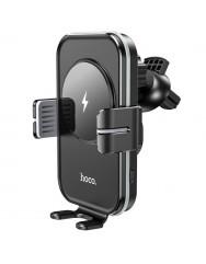Автотримач з бездротовою зарядкою Hoco CA80 (Black)