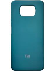 Чохол Silicone Case Xiaomi Poco X3 / Poco X3 Pro (темно-зелений)