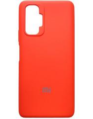 Чохол Silicone Case Xiaomi Redmi Note 10 Pro (помаранчевий неон)