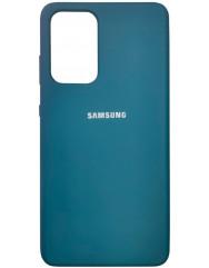 Чохол Silicone Case Samsung Galaxy A52 (синій космос)