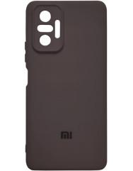 Чохол Silicone Case Xiaomi Redmi Note 10 Pro (чорний)