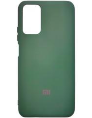 Чохол Silicone Case Poco M3/Redmi 9T (темно-зелений)