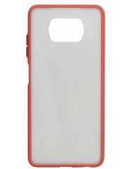 Чохол LikGus Maxshield матовий Xiaomi Poco X3 / Poco X3 Pro (червоний)