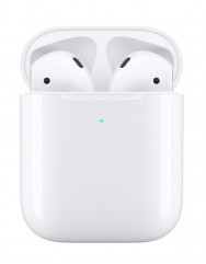 TWS навушники Apple AirPods 2 (Copy) with Wireless Charging Case (White)