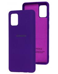 Чохол Silicone Case Samsung Galaxy A31 (фіолетовий)