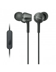 Вакуумні навушники-гарнітура Sony MDR-EX255AP (Black)
